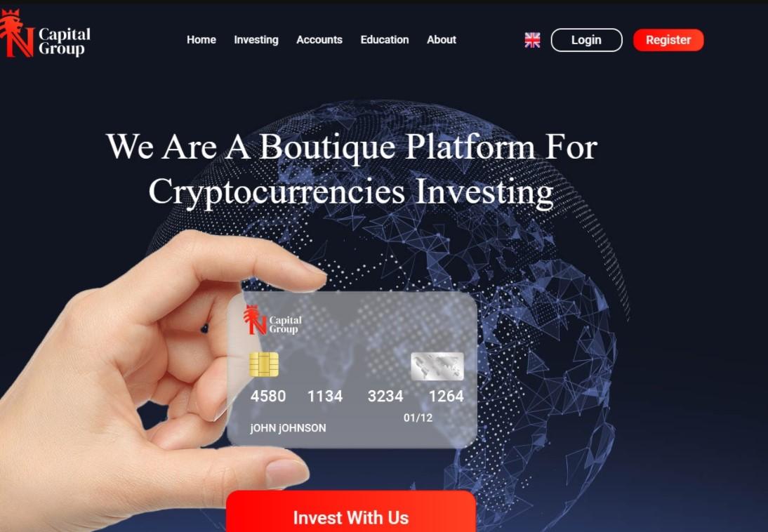 NCapital Group website